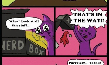 Webcomic: Scrotes' Unboxing