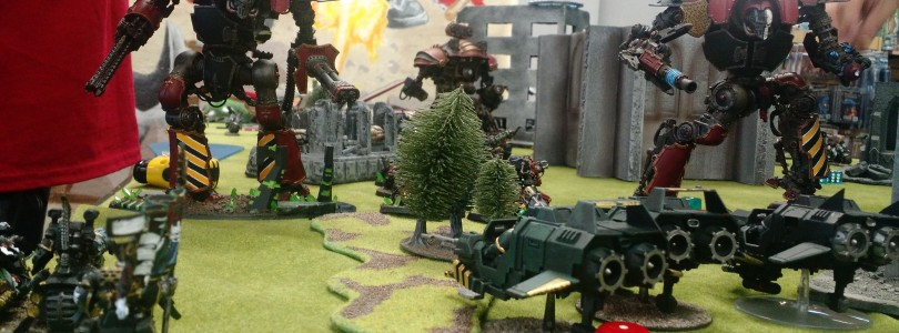 Warhammer 40k ITC Tournament