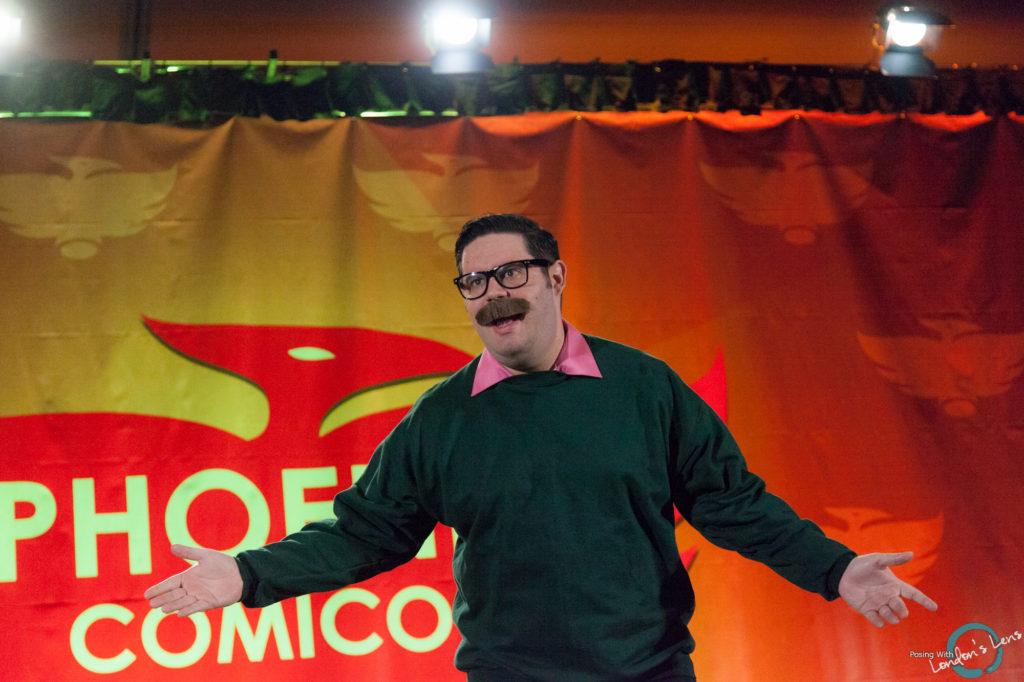 Talk Nerdy To Me at Phoenix Comicon 2016