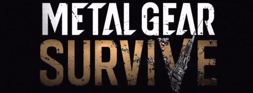 Metal Gear Survive Announced