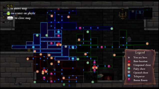 Rogue-Legacy-Map
