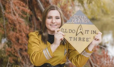 Laughingpuffin Has The Greatest Star Trek Graduation Photos Ever!