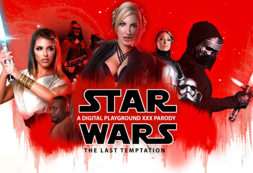 (NSFW)Digital Playground Releases Star Wars XXX Parody and is Less Controversial Than Actual Star Wars Film
