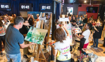 Mort Productions Tackles Art Battle!