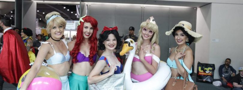 SDCC - Disney Princesses
