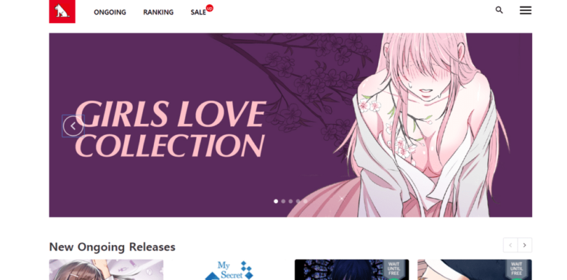 Lezhin Comics Relaunches Website with New Design