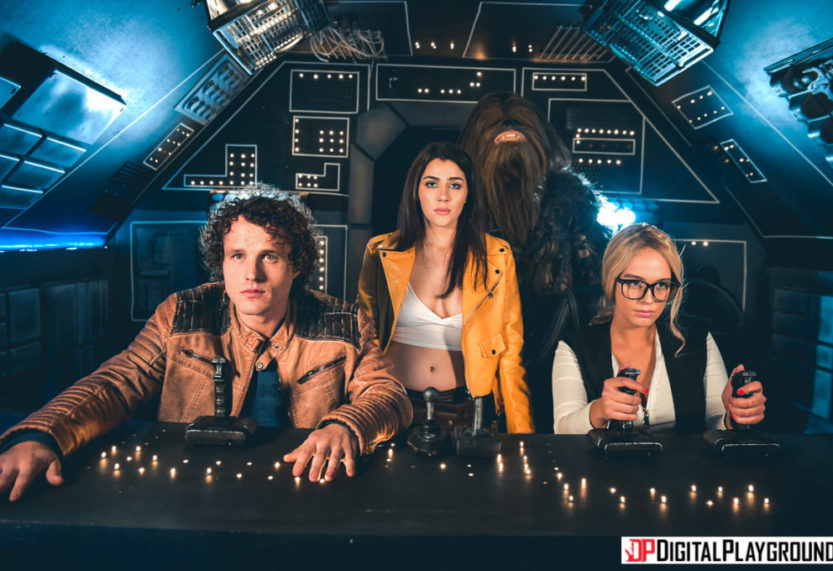 Looking for a Good Time in a Galaxy Far, Fay Away? Try 'Hand Solo: A DP XXX Parody'!