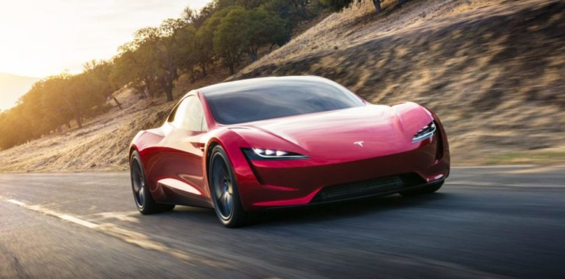 One Step Closer to Flying Cars: Future Tesla Roadster Might Hover