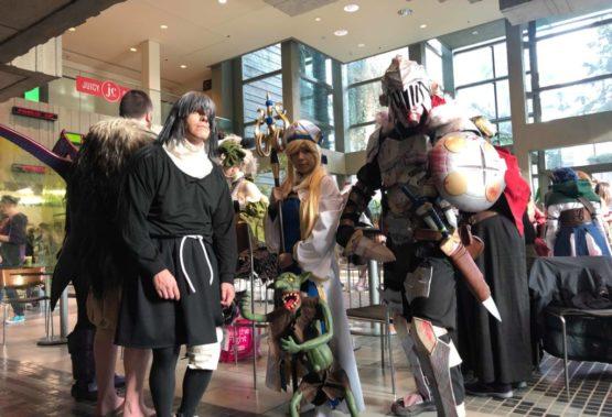 Horsemen of Tackle Emerald City Comic Con 2019!