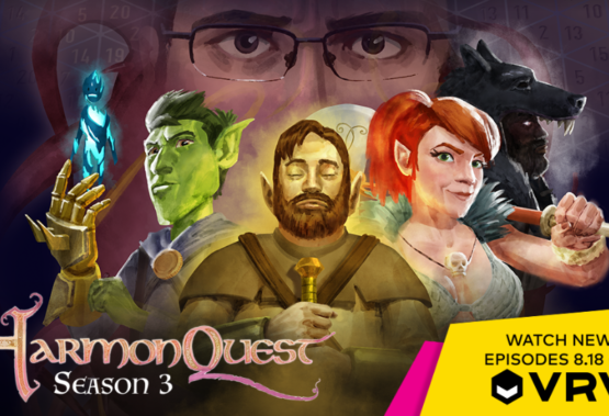 HarmonQuest Season 3 is Coming to VRV on August 18