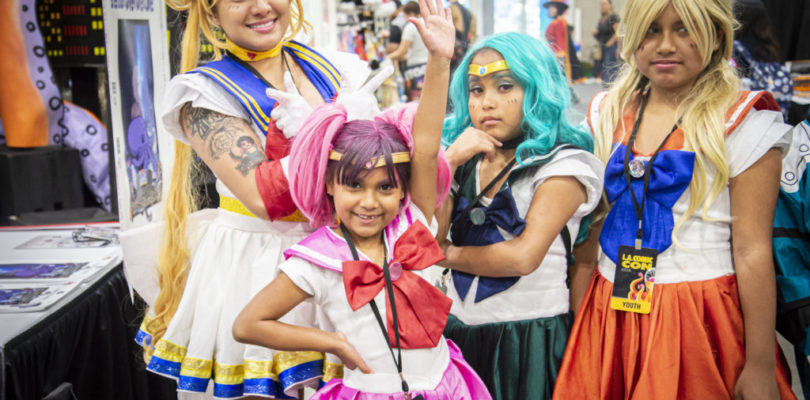 Sailor Doom Slays Los Angeles Comic Con 2019