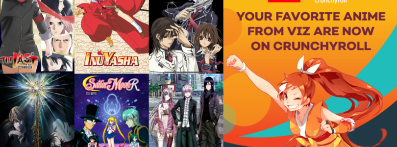Crunchyroll launches Death Note, Naruto films, Inuyasha and more through VIZ Media deal