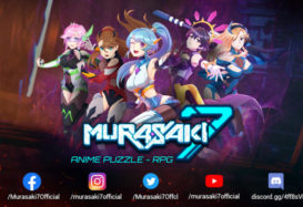 Check Out This New Anime Puzzle/RPG Game: Murasaki7