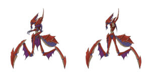 WoW Visions of NZoth Concept Old God Spider Caster (Side)