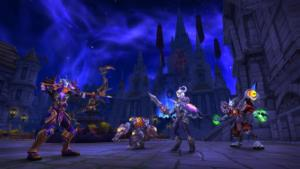 WoW Visions of NZoth Stormwind