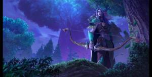 WarcraftIII NightElf Wallpaper
